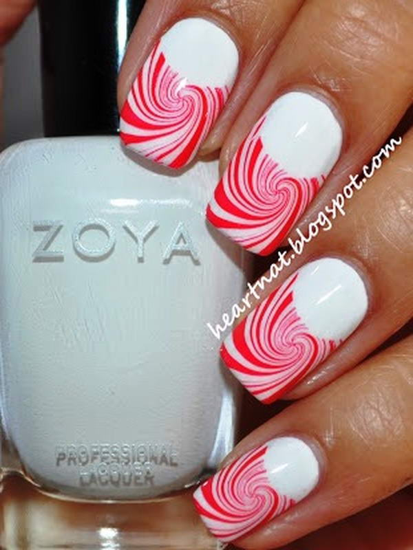 Have The Best Candy Cane Nail