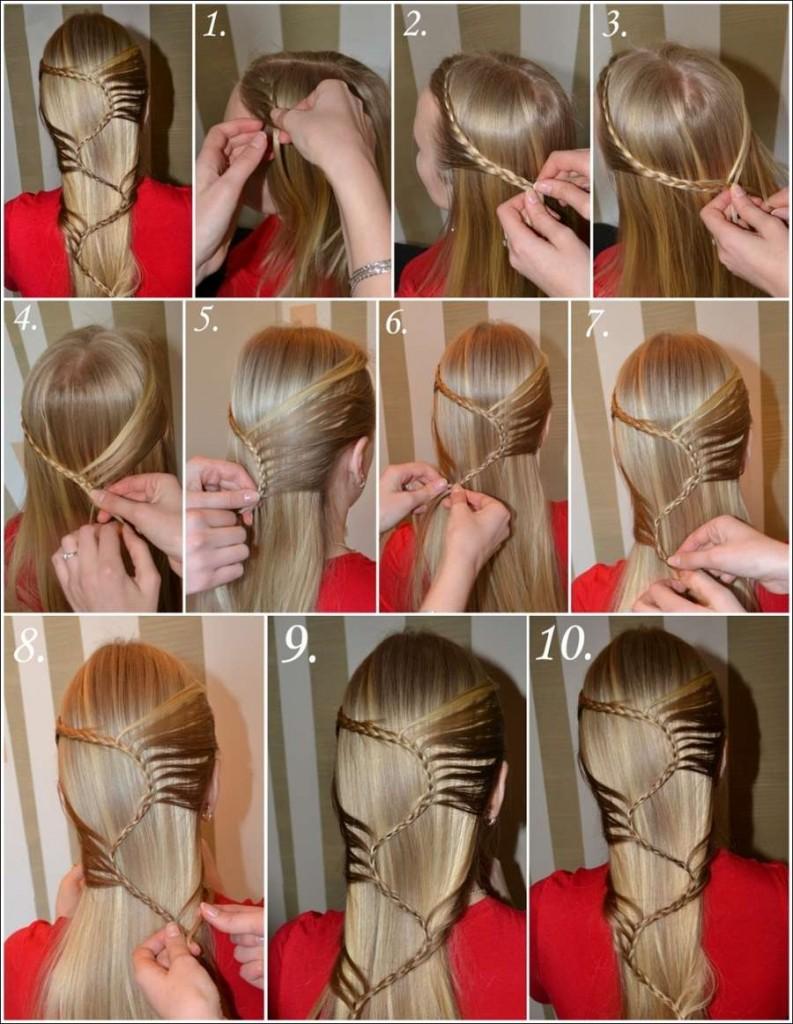 Как сделать красивую прическу из средних длины волос