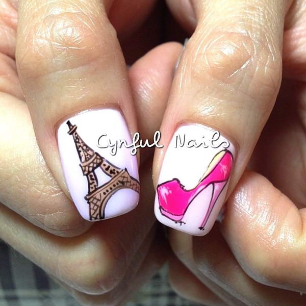 Who Wants To Have These Paris Nail Arts?
