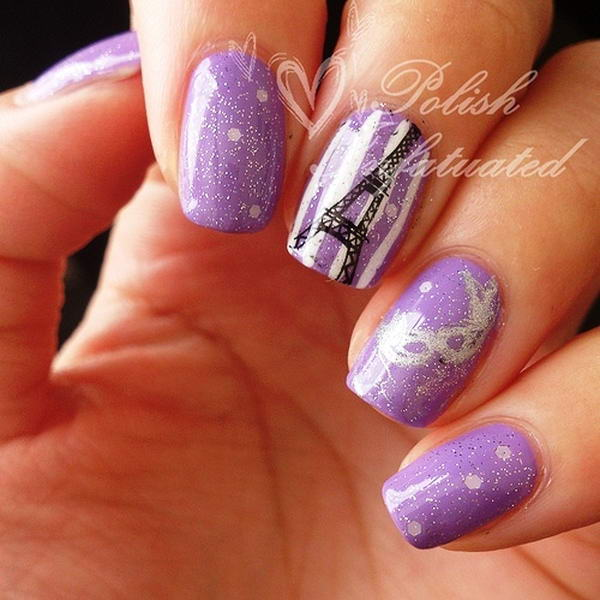 Who Wants To Have These Paris Nail Arts