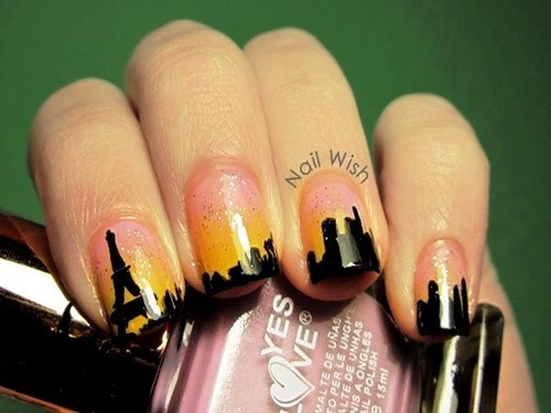 paris nail art - Who Wants To Have These Paris Nail Arts?