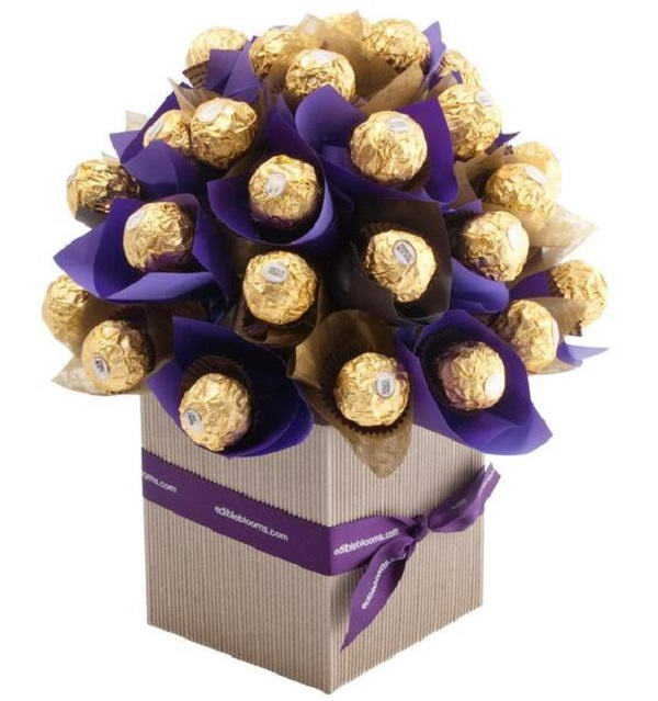 A Ferrero Rocher Bouquet Can Make A Very Special Gift Idea