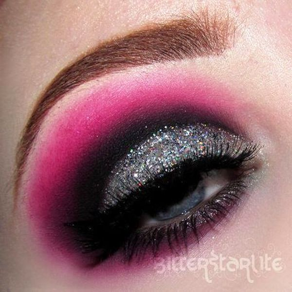 e42ba4c6d62 Pink Eye Makeup For The Valentine's Day!