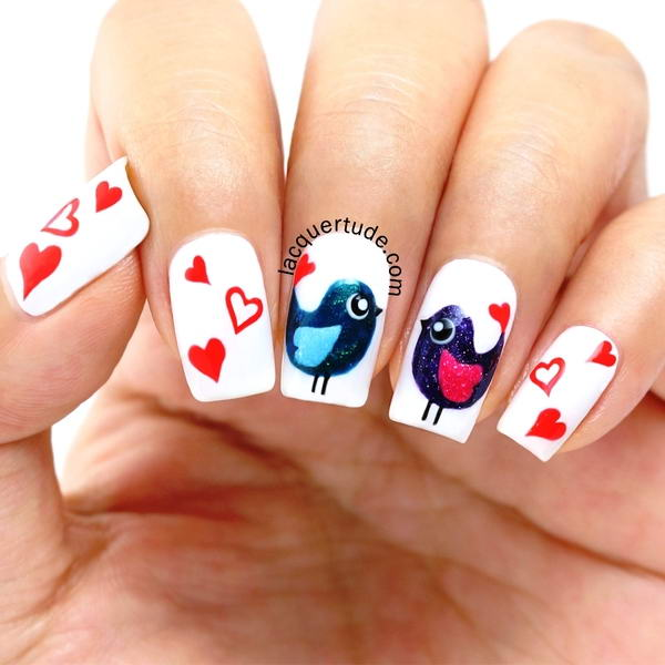 Who Would Like To Have These Adorable Bird Nail Arts?