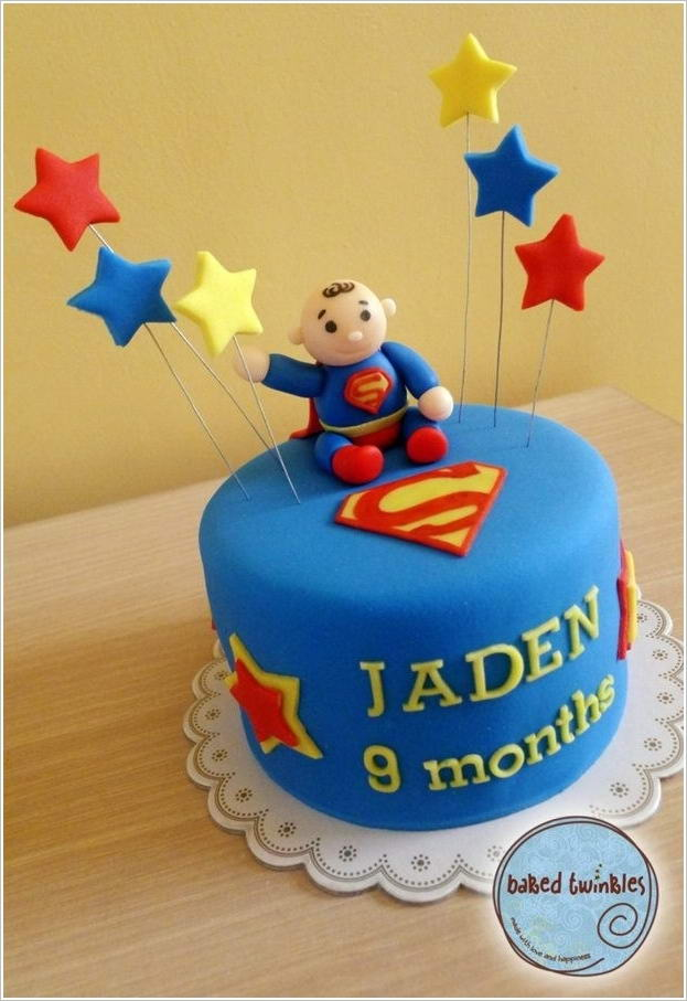 Small Images Of Birthday Cake : Superhero Birthday Cakes for Little Boys That Are More ...