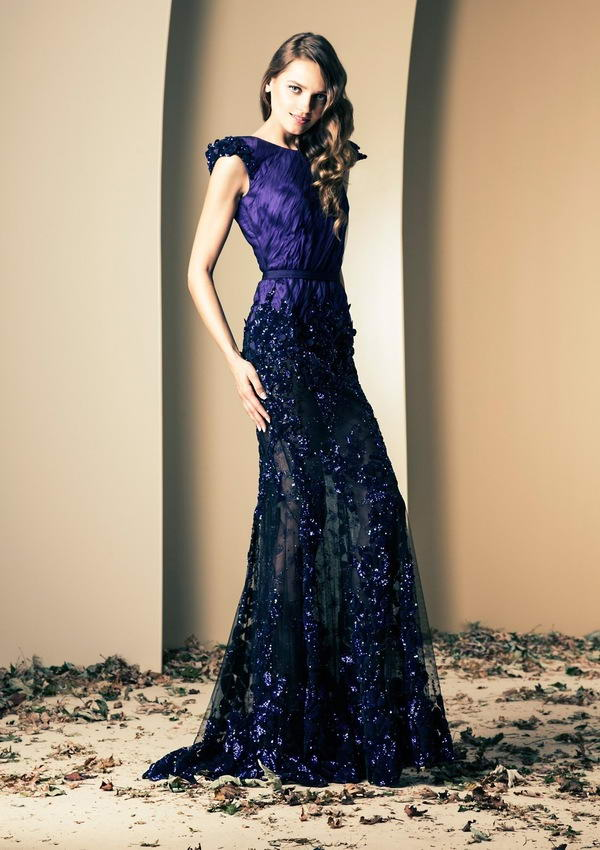 Elegant Blue Evening Gowns For Pretty Ladies!