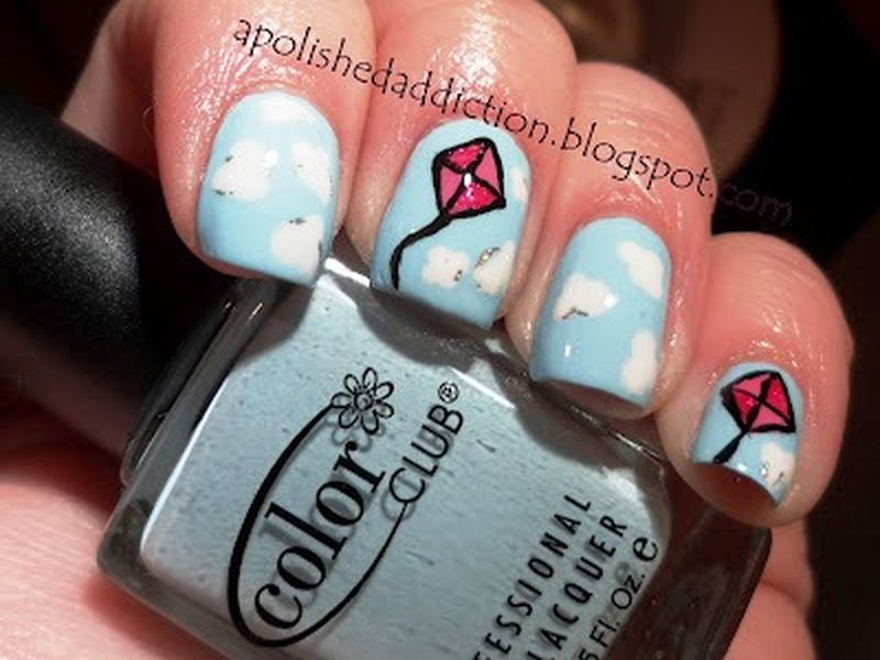 Who Would Like To Have These Kite Nail Arts?