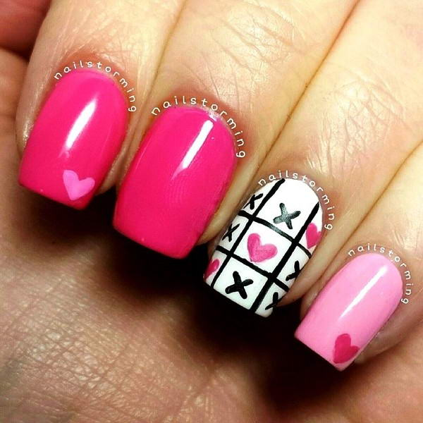 Valentines Day With Xo Nail Arts