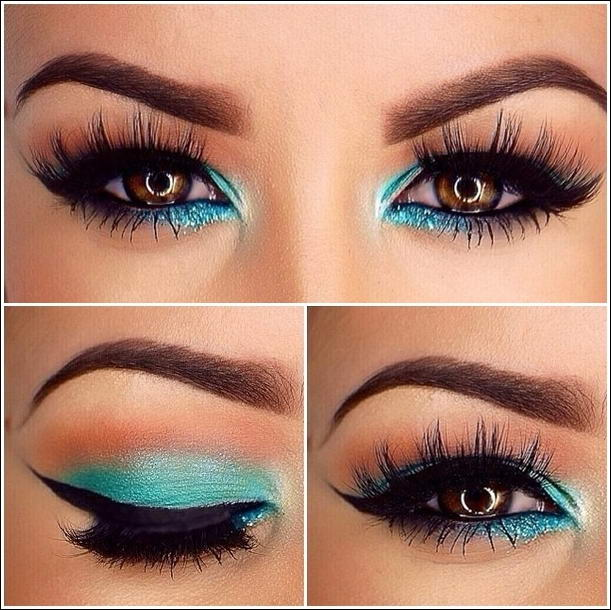 Glamorous Teal Eye Makeup Ideas For You To Try