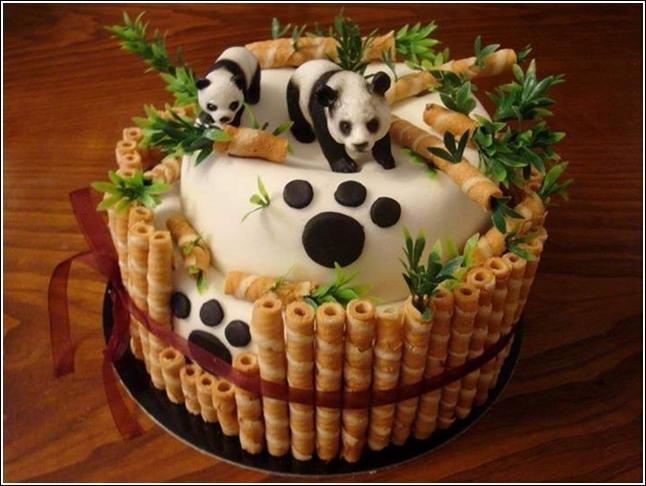 Easy Panda Cake Pinterest
