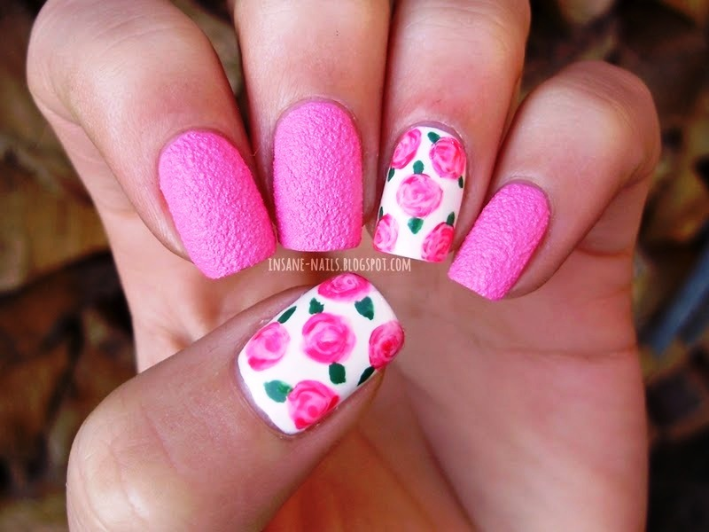 Rose Nail Arts For Any Festive Occasion!