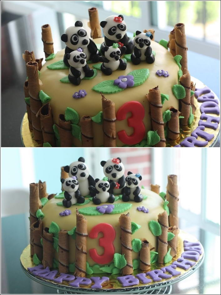 how to make bamboo with fondant