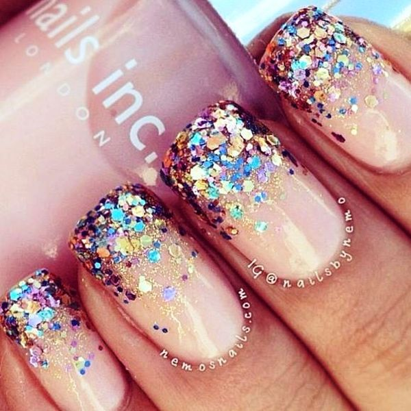 Will You Try These Ombre Glitter Nail Arts For Any Upcoming Occasion?