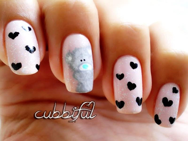 Will You Try These Adorable Teddy Bear Nail Arts?