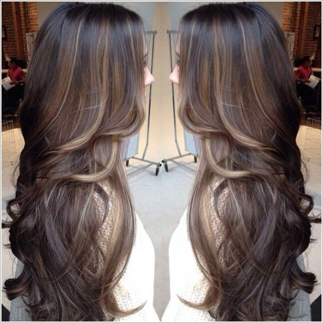 Hairstyles For Long Hair Highlights : good option so here you go for some highlights for long hair