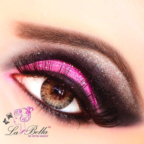 Hot Pink Eye Makeup Looks - Mugeek Vidalondon