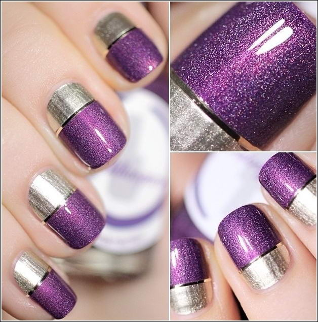 Two Tone Nail Art Ideas That You\'ll Love to Try