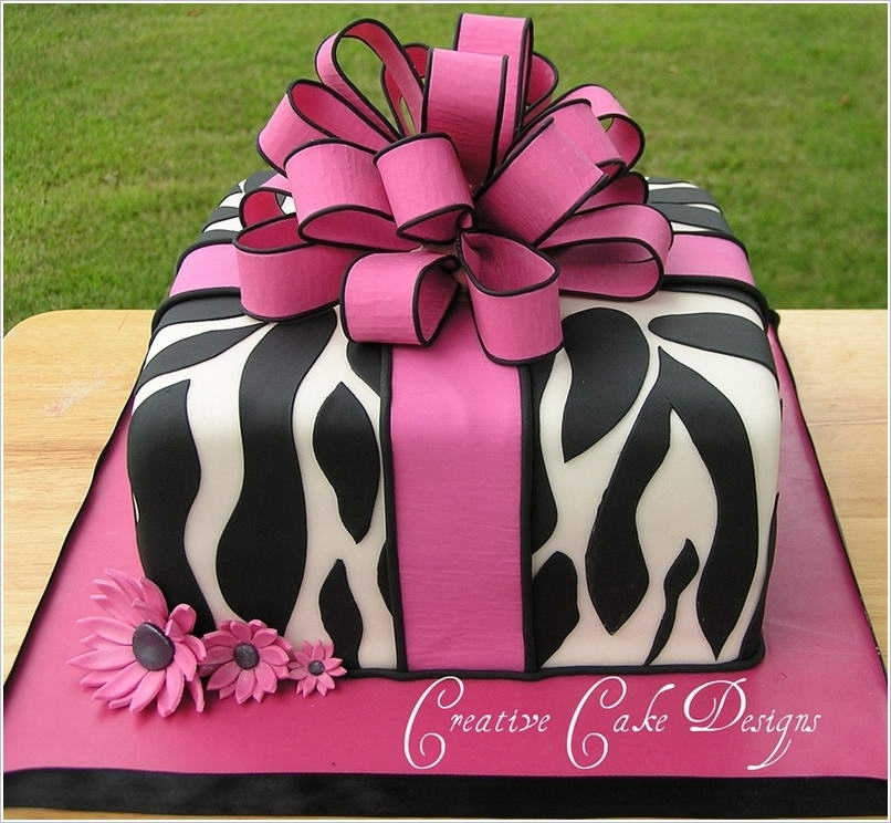 How Amazing Are These Animal Print Cakes