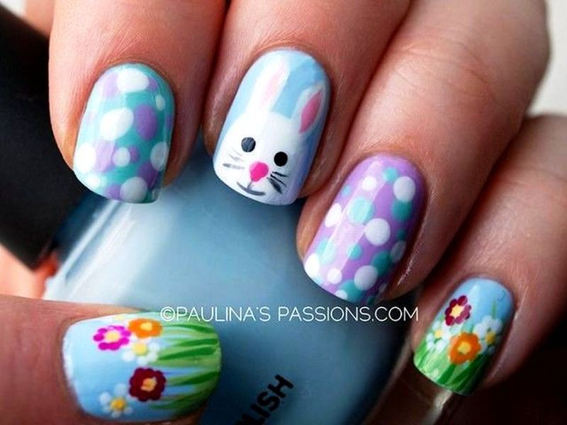 Adorable Easter Nail Arts For Your Nails!