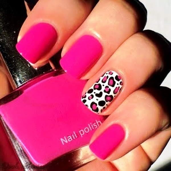 Red Leopard Print Nails Who Wants To Ge...