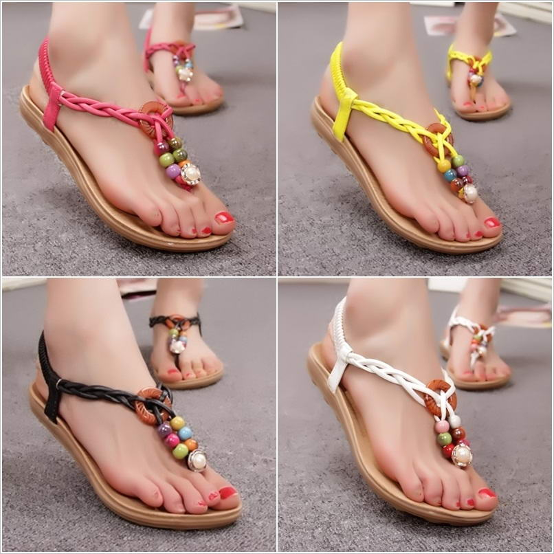 0fc73cda5c84 Show Off Your Style in These Stunning Beaded Sandals