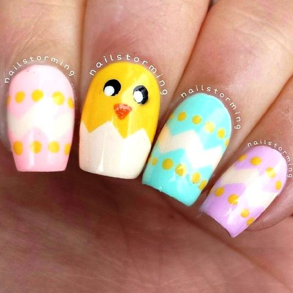 Adorable Easter Nail Arts For Your Nails
