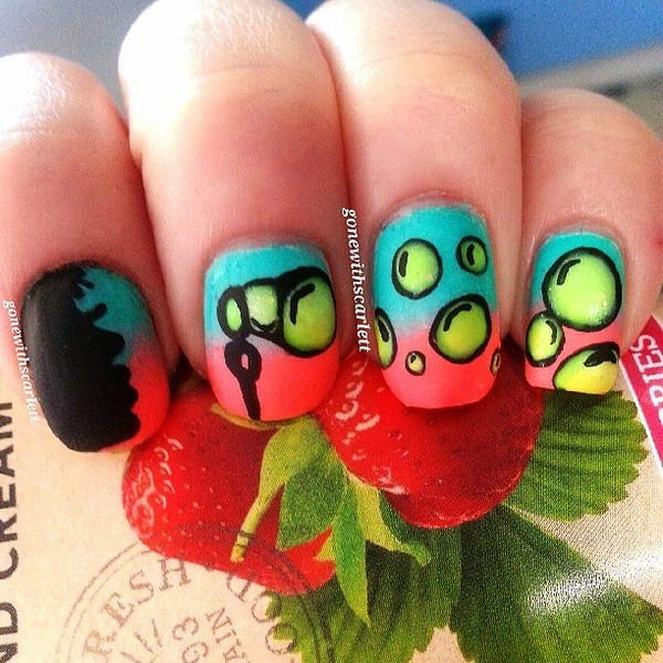 - Who Wants To Try These Cute Bubble Nail Arts?