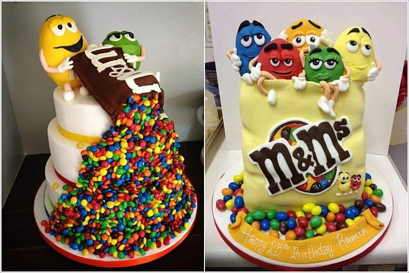 Celebrate Your Birthday with a Smashing mms Cake