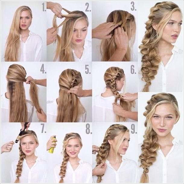 Try This Romantic Loose Side Braid Hairstyle For Your Wedding