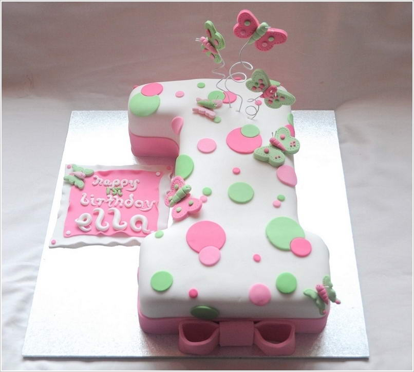 Cake Designs For A 1 Year Old : Cute and Creative First Birthday Cakes for Your Baby