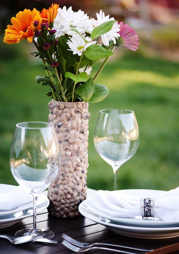 diy pringles can vase