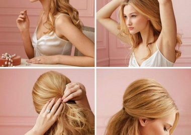 diy half and half hairstyle