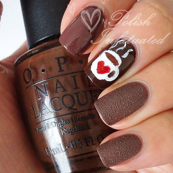 Would You Like To Try These Amazing Coffee Nail Arts