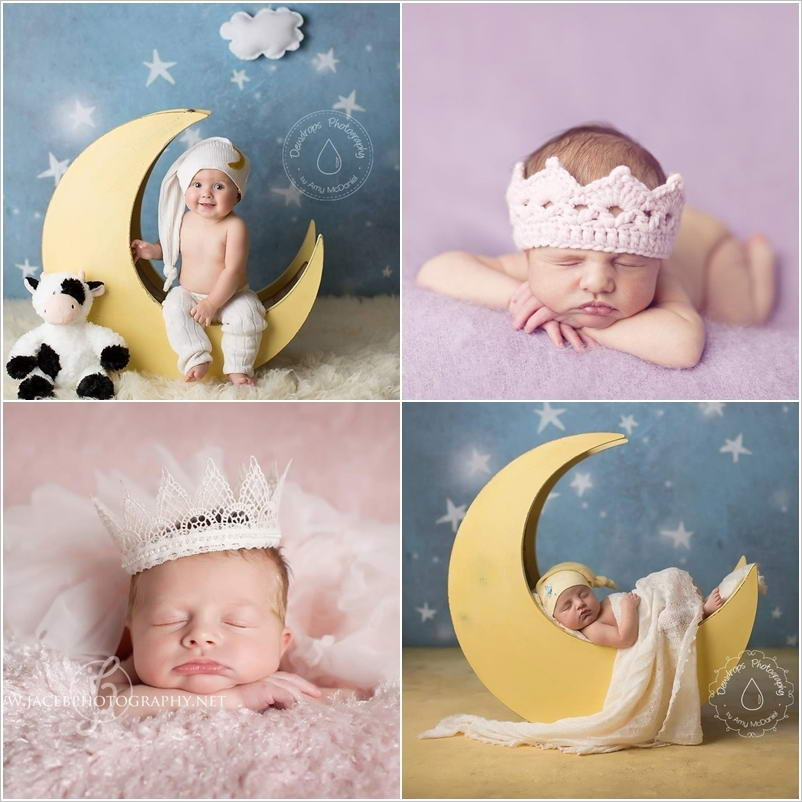 These baby photography props are just super cute