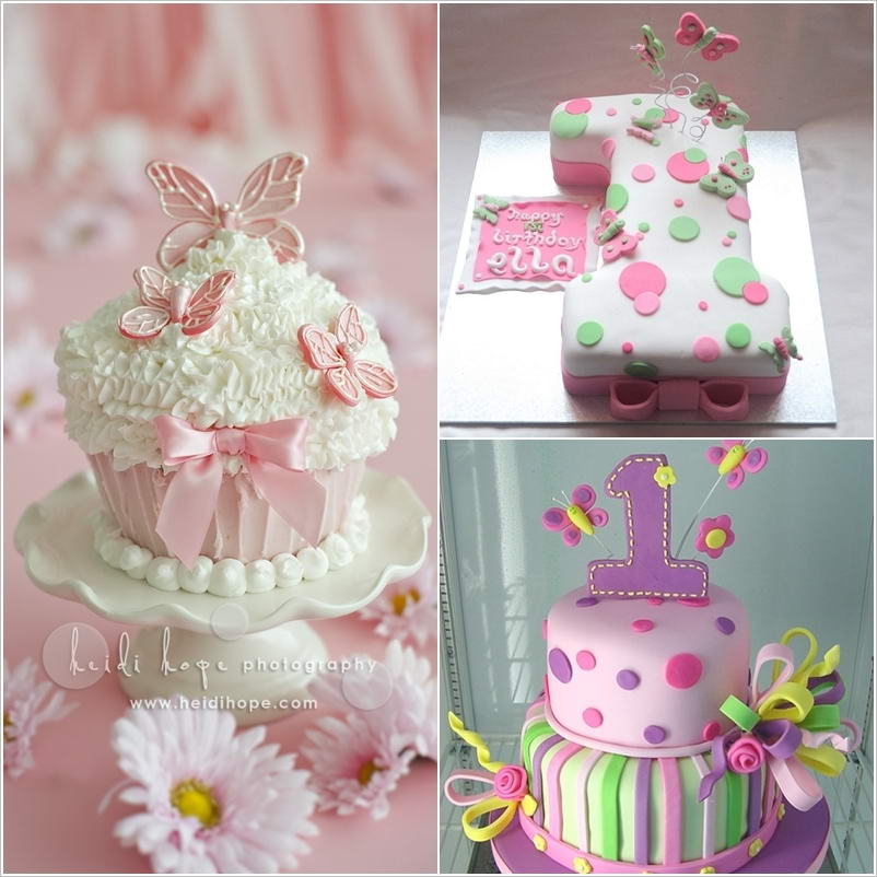 Cute and Creative First Birthday Cakes for Your Baby