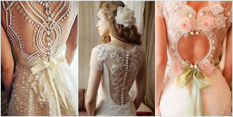 these wedding dresses with back detail are outstanding. Black Bedroom Furniture Sets. Home Design Ideas