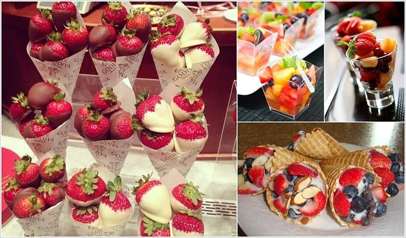 How Amazing Are These Fruit Bar Ideas For Weddings And Parties