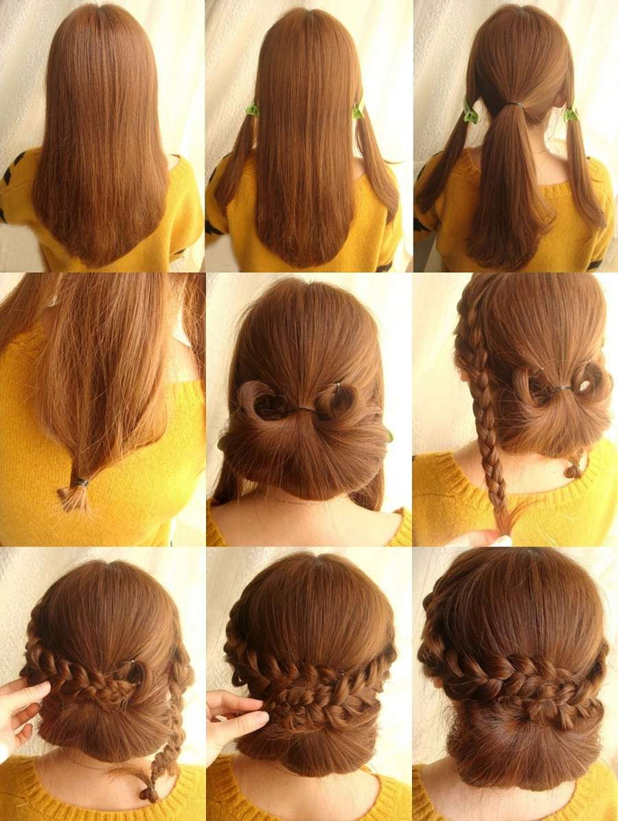 This Chignon With Braid Hairstyle Is Perfect For A Dinner