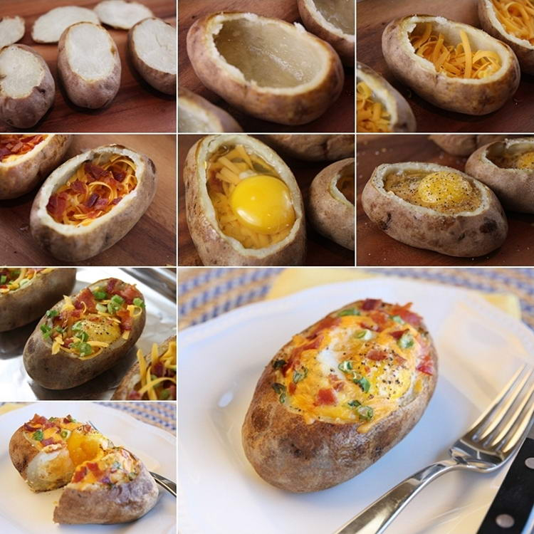 Make These Yummy Baked Egg Potato Bowls for BreakfastStylish Board