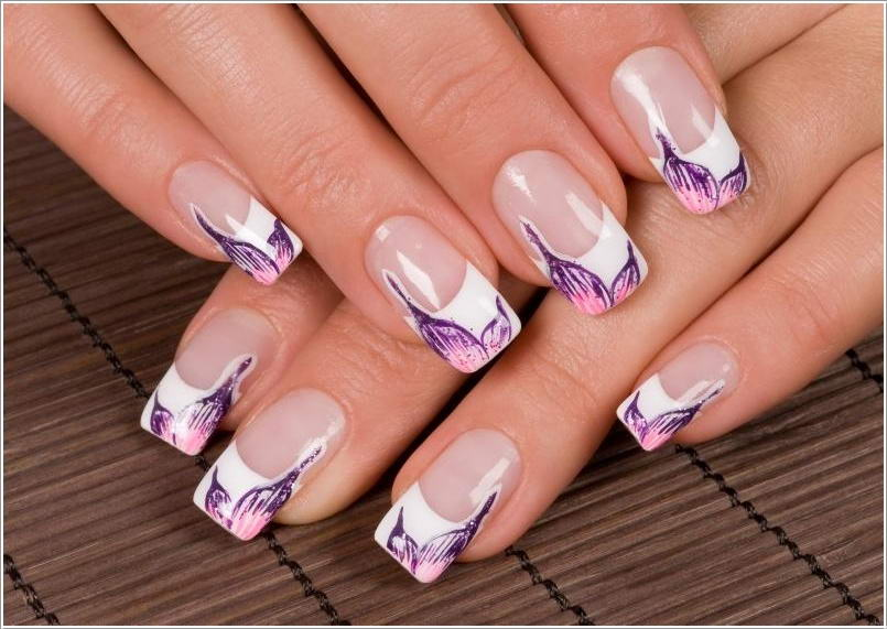 These French Tip Nails Are So Exquisitely Designed