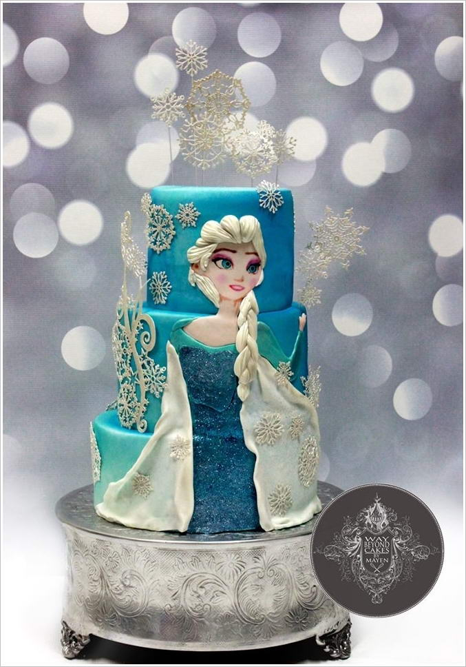 Cake Images With Frozen : These Frozen Movie Inspired Cakes are So Fabulous