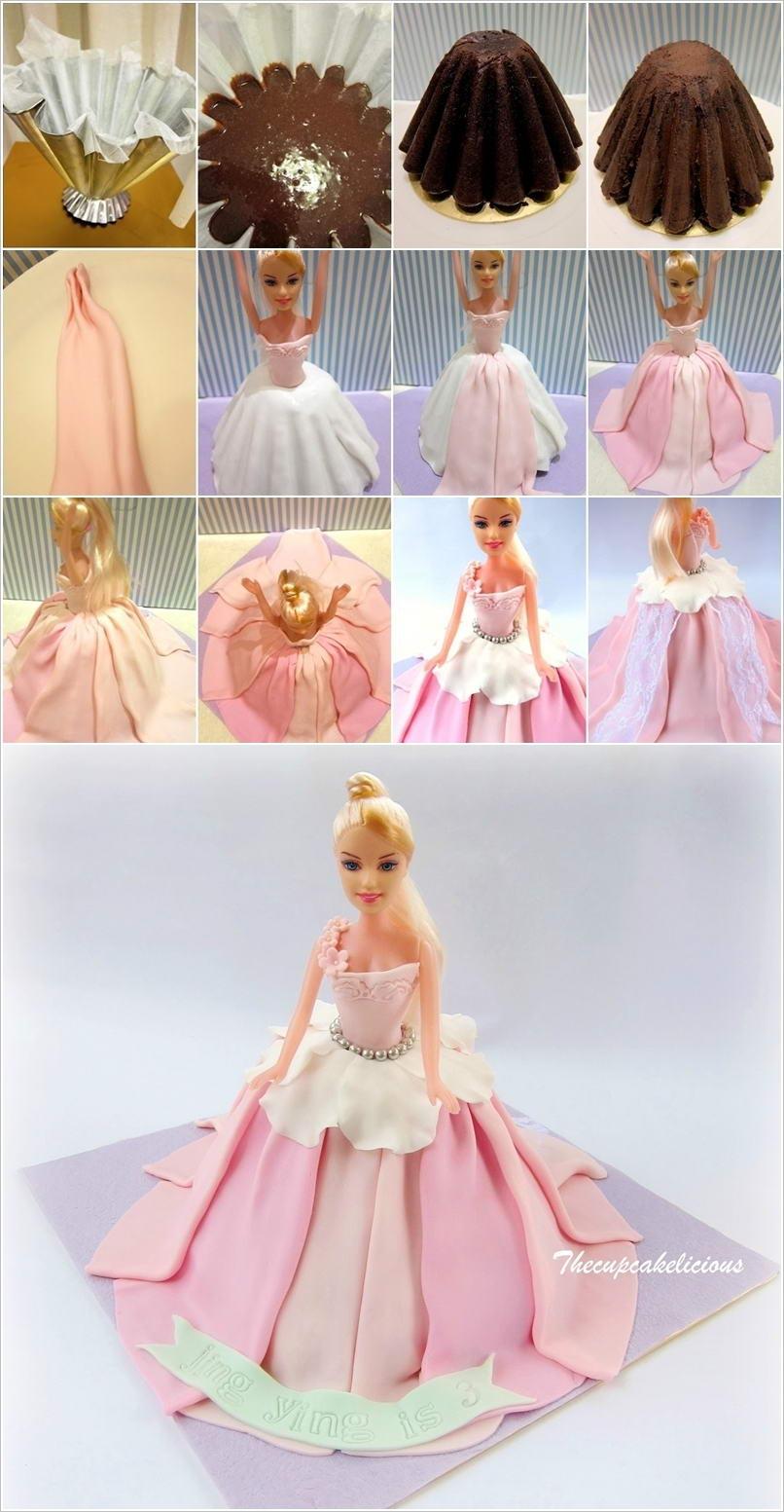 Кукла из мастики мастер класс фото