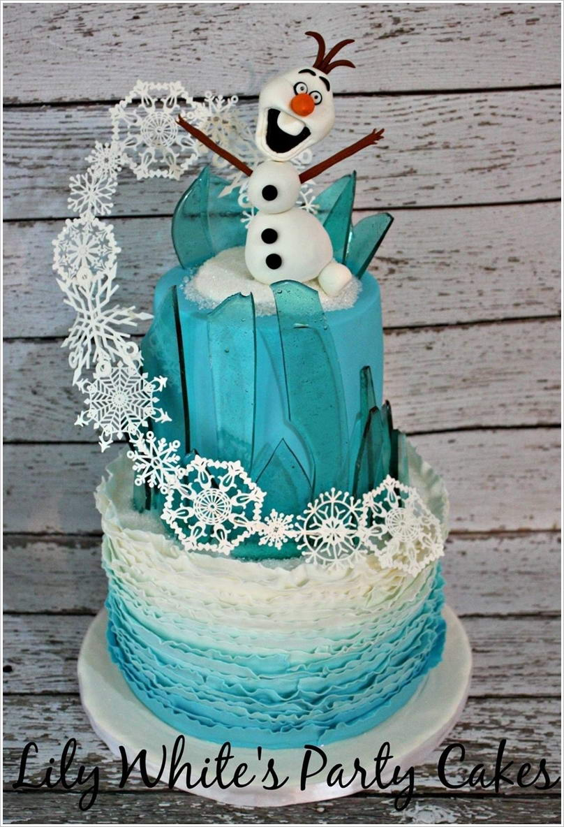 These Frozen Movie Inspired Cakes are So Fabulous