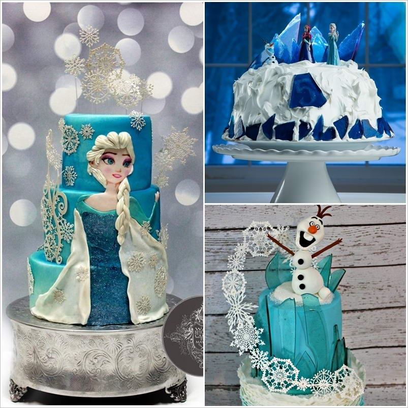 Cake Decorating Frozen Movie : These Frozen Movie Inspired Cakes are So Fabulous