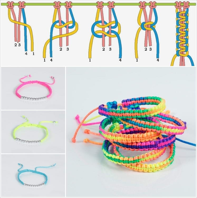 This Braided Macrame Bracelet Is So Cool