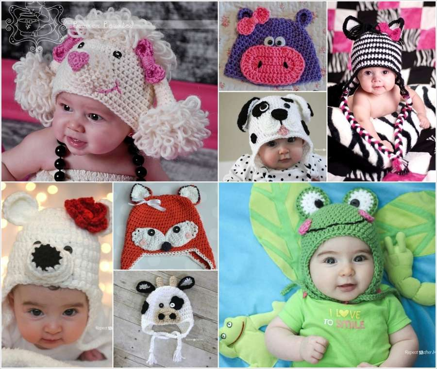 11 Adorable Crochet Animal Hat Patterns For Your Baby