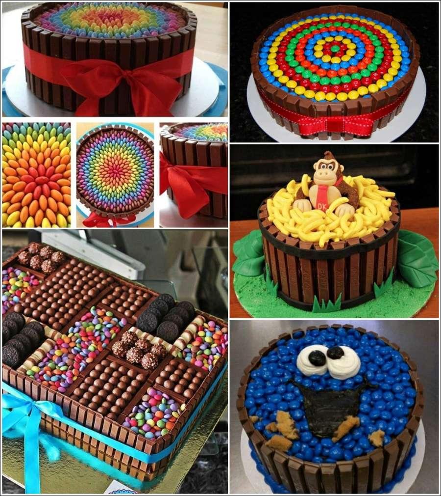 Cake Decoration Kit Kat : 23 Delicious and Stunning Kit Kat Cakes