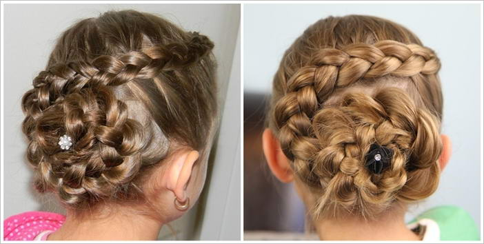 gorgeous dutch flower braid hairstyle tutorial