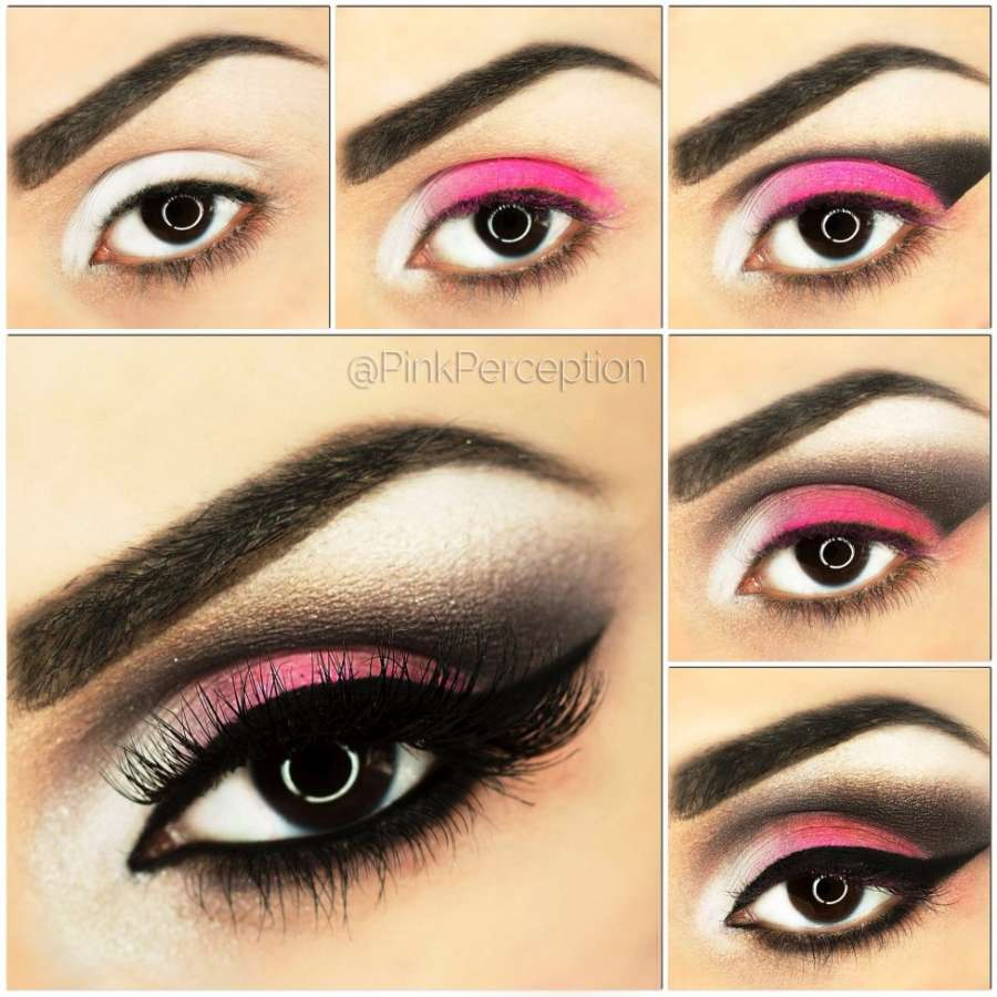 who wants to get this pink smokey eye makeup?