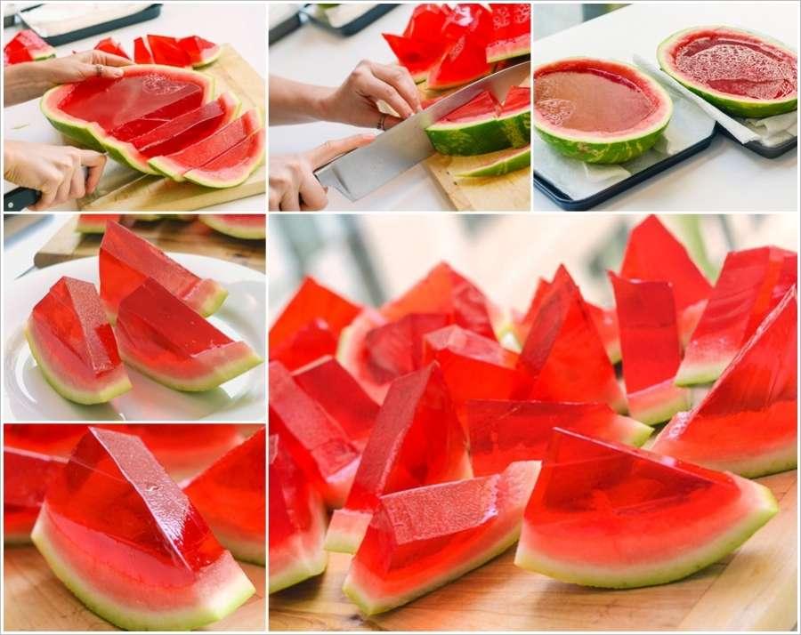 Watermelon Jelly Cake Recipe: Watermelon Jello Cake Ideas And Designs